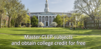 College-level, high-quality, free CLEP courses, taught by top professors. Intended to provide affordable college education. Developed by a NY-based non-profit initiative –Modern States...